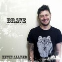 "Kevin Allred ""Brave"" CD cover and website link."