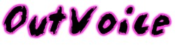 OutVoice LOGO. GLBT Musicians top 40 ranking charts!