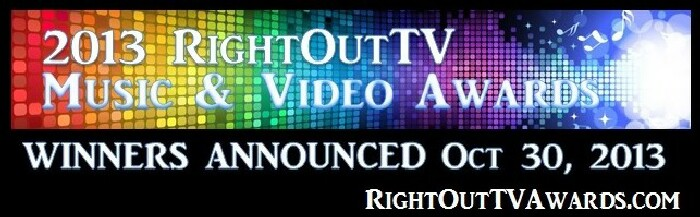 2013 RightOutTV Music & Video Awards and website link