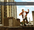 "Avi Wisnia ""Something New"" CD cover and website link."