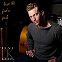 "Levi Kreis ""Live @ Joe's Pub"" CD cover and website link."