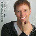 "Shawn Thomas' ""Voice Of Worship"" CD cover and link to Shawn's website."